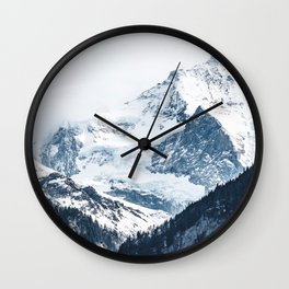 Mountains 2 Wall Clock