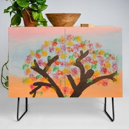 The First Sign of Fall Credenza