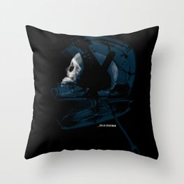 _HELLO SPACEMAN Throw Pillow