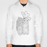 bears Hoodies featuring bears by s t i n g s