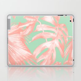 Island Love Seashell Pink + Mint Green Laptop & iPad Skin