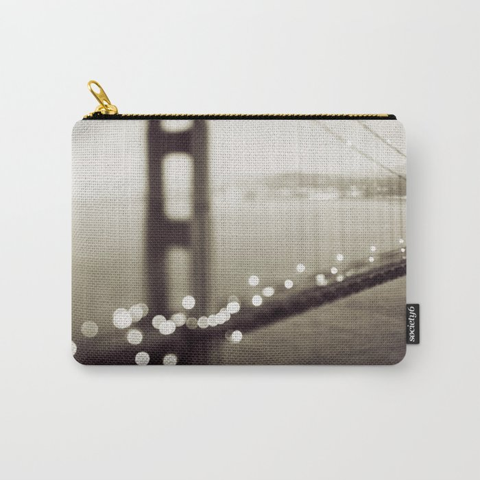 Meet Me In San Francisco (Black and White Edition)  Carry-All Pouch