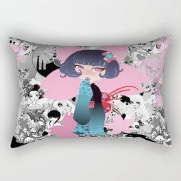 Hina pink Rectangular Pillow