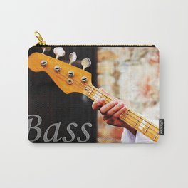 Bass Guitar neck , musical instrument  Carry-All Pouch
