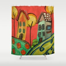Casitas Shower Curtain