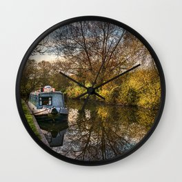 An Autumn Afternoon At Hungerford Wall Clock