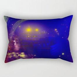 NIGHT CITY Rectangular Pillow