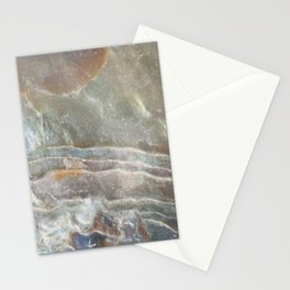 Stormy day abalone Stationery Cards