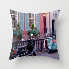 The blue shades Throw Pillow