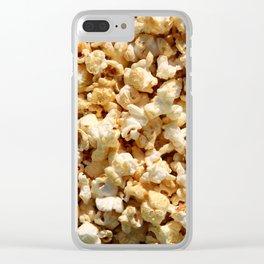 Binge Watching Clear iPhone Case