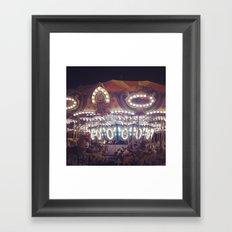 Another Carousel  Framed Art Print