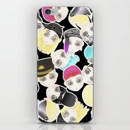BIGBANG Collage (Black) iPhone Skin