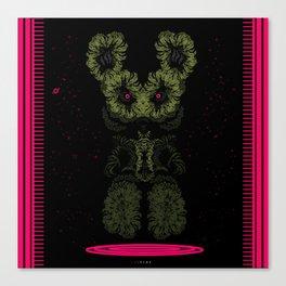 Alien Wabbit Canvas Print