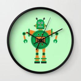 a humanoid 3 Wall Clock