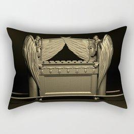The Ark and the Cherubim Rectangular Pillow