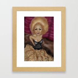 "Who Do You Think You Are ""Scary Spice"" Framed Art Print"