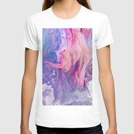 ultra violet marble fun T-shirt