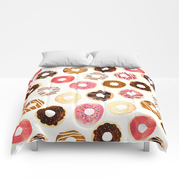 Donuts For Days Comforters