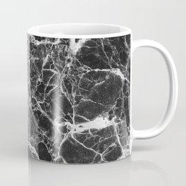 Black & White Veiny Marble Coffee Mug