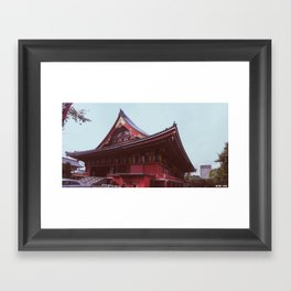 Asakusa Temple, Tokyo Framed Art Print