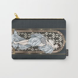 A Scandal in Belgravia - Mucha Style Carry-All Pouch