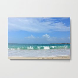 Big Waves After the Storm Metal Print