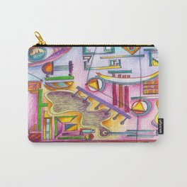7 thoughts in color Carry-All Pouch