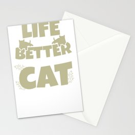 Cat tomcat gift Maine Coon Persian cat Siam Stationery Cards