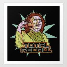 Total Recall Art Print