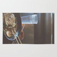 ramen Area & Throw Rugs featuring Ramen  by Warren Silveira + Stay Rustic