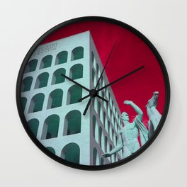 From Italy With Love_02 Wall Clock