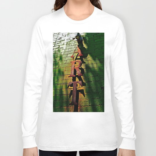 Art on Bricks Long Sleeve T-shirt