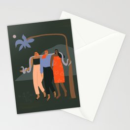 Girlfriends night out Stationery Cards