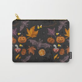 October pattern Carry-All Pouch