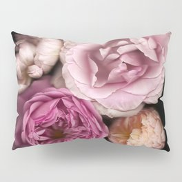 Pink, Purple, and White Roses Pillow Sham