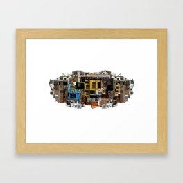 Lima City 1 Framed Art Print