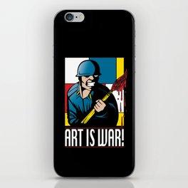 Art is War! iPhone Skin