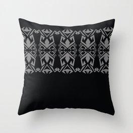 SARAWAK WARRIOR Throw Pillow