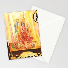 Catching Fire Stationery Cards
