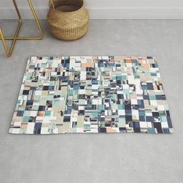 Abstract Jumbled Mosaic Rug