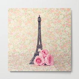 Flower Tower Metal Print