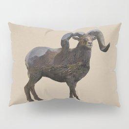 The Rocky Mountain Bighorn Sheep Pillow Sham