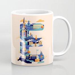 Wanderlust Alphabet – E is for Edinburgh Coffee Mug