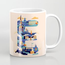 Wanderlust Alphabet – E is for Edinburgh Coffee Mug
