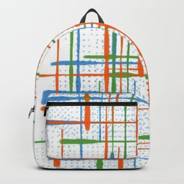 Abstract / Geometry - Colorful Terminal Backpack