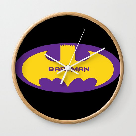 Bartman Wall Clock