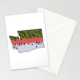 Washington Rainbow Trout Stationery Cards
