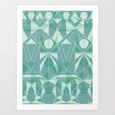 Nordic Combination 34 Art Print