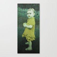 Little Eve (mustard) Canvas Print