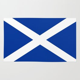 scotland country flag united kingdom great britain Rug